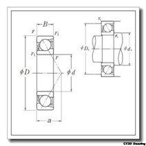 10 mm x 35 mm x 11 mm  CYSD 7300BDB CYSD Bearing