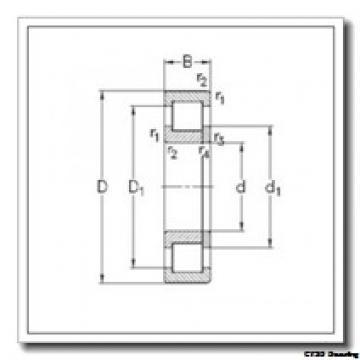 90 mm x 190 mm x 43 mm  CYSD NU318E CYSD Bearing