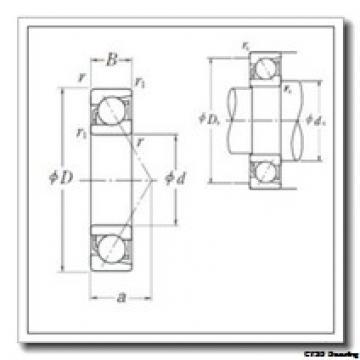 20 mm x 52 mm x 15 mm  CYSD 7304DB CYSD Bearing