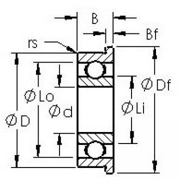 AST SFR133 AST Bearing