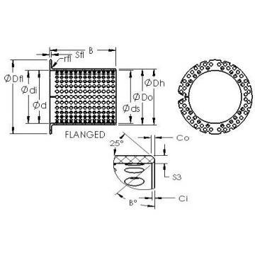 AST ASTT90 F12070 AST Bearing