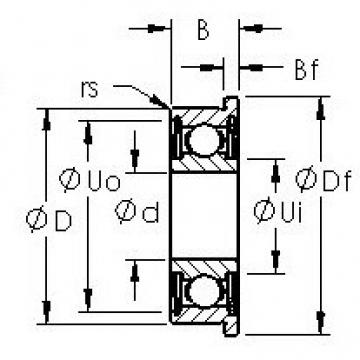 AST F689HZZ AST Bearing