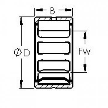AST NK25/16 AST Bearing