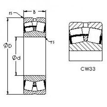 AST 23234CAW33 AST Bearing