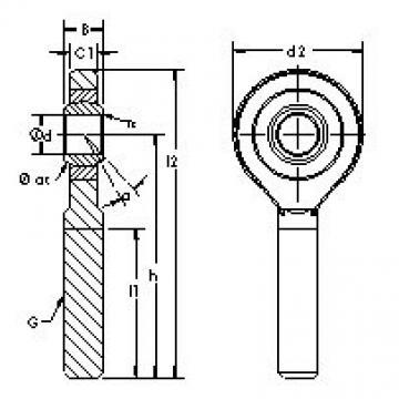 AST SA15ET-2RS AST Bearing