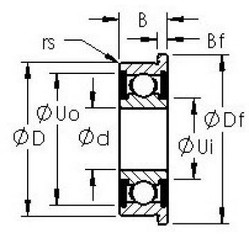 AST F692H-TT AST Bearing