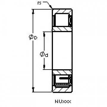 AST NU2232 EM AST Bearing