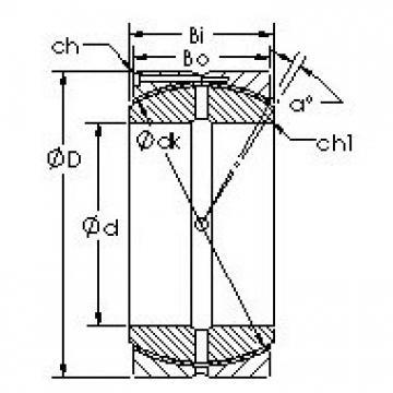 AST GEC440HCS AST Bearing
