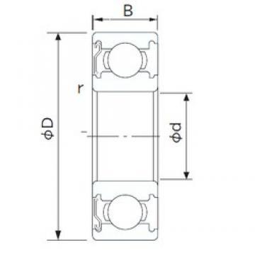 65 mm x 100 mm x 18 mm  CYSD 6013-Z CYSD Bearing