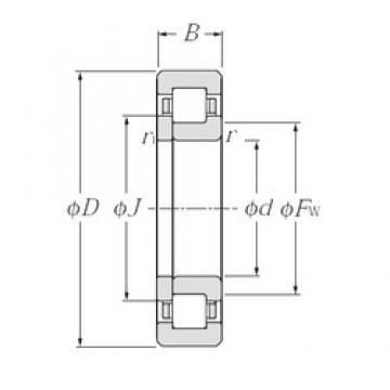95 mm x 170 mm x 32 mm  CYSD NUP219E CYSD Bearing