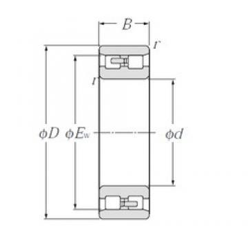 120 mm x 180 mm x 46 mm  CYSD NN3024/W33 CYSD Bearing