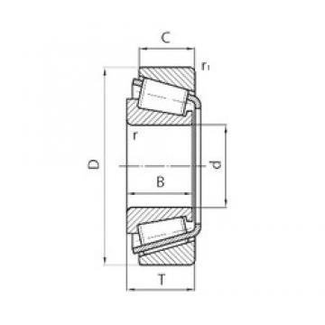 140 mm x 250 mm x 42 mm  CYSD 30228 CYSD Bearing