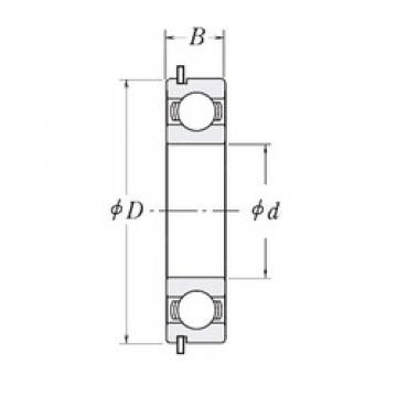 45 mm x 68 mm x 12 mm  CYSD 6909NR CYSD Bearing
