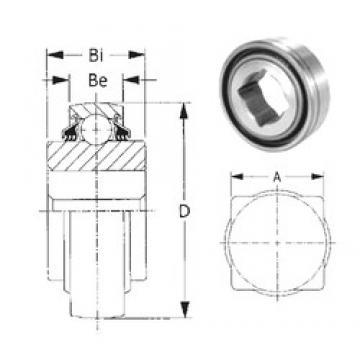 25,4 mm x 80 mm x 39,52 mm  CYSD W208PPB6 CYSD Bearing