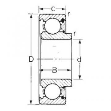 12 mm x 32 mm x 12,7 mm  CYSD 8501 CYSD Bearing