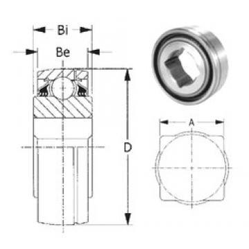 31,75 mm x 85 mm x 36,52 mm  CYSD GW209PPB5 CYSD Bearing