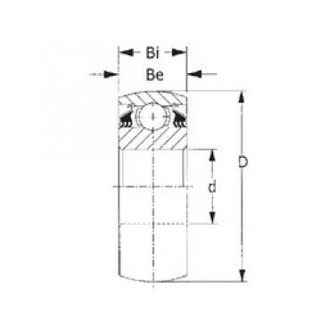 55,575 mm x 100 mm x 33,325 mm  CYSD W211PPB2 CYSD Bearing