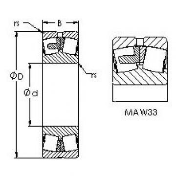 AST 23332MAC4F80W33 AST Bearing